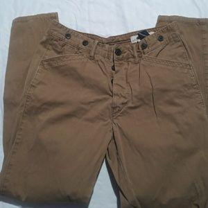 H&M label of graded Goods khaki pants